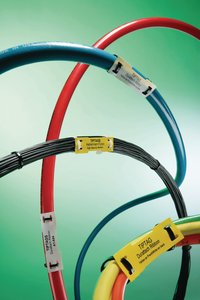 Highly visible and lightweight cable marking.