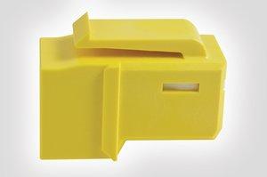 类别6A UTP GST杰克为黄色