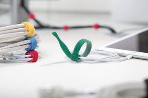 Dankzij de praktische vorm kan de TEXTIE-serie aan de kabel blijven zitten en raakt dus niet kwijt.