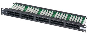 50 port high density Category 3 Voice Panel