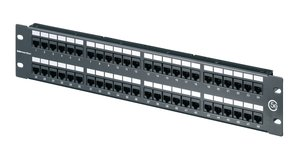 2U 48 Port Category 5e Universal 110 Panel