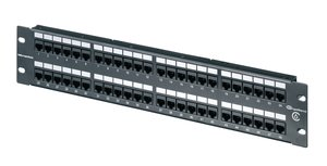 2U 48 Port Category 6 Universal 110 Panel