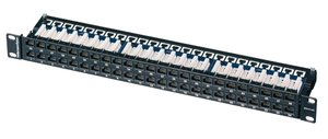 Ecoband Category 6 1U 48 Port Panel