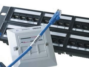 iD 1U Category 6 Panel is supplied with iD barcode for effective network management