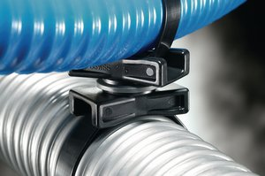 The spacers can be easily rotated by hand, allowing the bundles to be crossed and rotated at any angle.