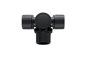 HelaGuard HG-T T-Verteiler mit Inspektionsdeckel.