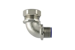 HelaGuard LTS-90FMC 90° Elbow Compression Fitting.