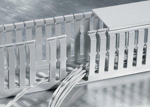 HelaDuct HTWD-HF halogenfreier Verdrahtungskanal erfüllt die höchsten Brandschutzeigenschaften