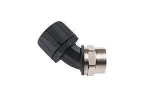 HelaGuard HG-45F 45° Elbow Swivel Internal Thread, IP66.