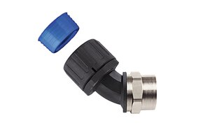 HelaGuard HGL-45F 45° Elbow Swivel Internal Thread, IP68.