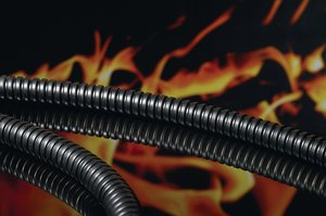 HelaGuard LFHCS galvanised steel conduit is low smoke, low toxicity, highly flame retardant and halogen free.
