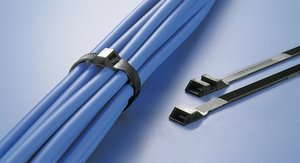 Low profile cable tie, LPH-Series.
