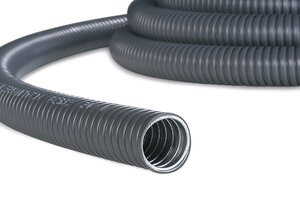 HelaGuard PCS Galvanised Steel Conduit with PVC Coating.