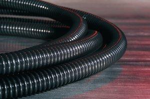 Die CTT-Schläuche aus PTFE schützen Kabeln vor sehr hohen und niedrigen Temperaturen, Flammen, Feuchtigkeit, Korrosion, Vibration und Abrieb.
