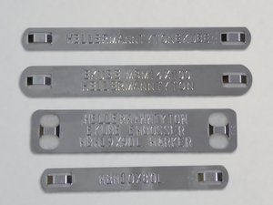 Marker Plates for the eKUBE.