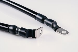 Heat shrink tubing SA47-LA for cable connection.