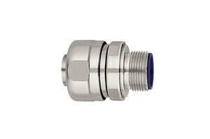 HelaGuard PSRSC-FMCFFSS stainless steel fittings for applications in the food-processing industry.