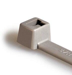 Kabelbinder der T-Serie verfügen über eine Innenverzahnung, die einen sicheren Halt von Draht- und Kabelbündeln gewährleistet.
