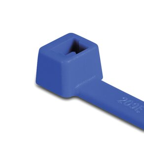 E/TFE cable ties (T-series) for high temperature applications.