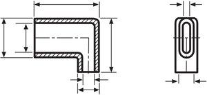 Les passe-fils sont proposés dans une large gamme de formes et de dimensions.