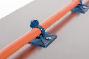 MCMB Mount, 4-way-entry, screwable, detectable.