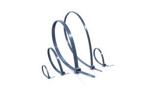 MCTPP Kabelbinder haben eine sehr gute chemische Beständigkeit und sind auch für einen höheren Temeraturbereich geeignet.