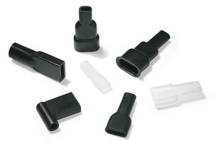 Edge protection grommets.