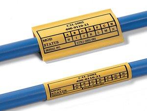TCGT – fünf Standardfarben für unterschiedliche Kabeldurchmesser.