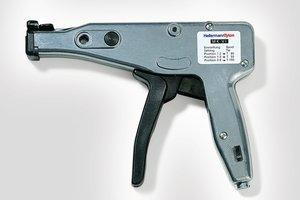 Das MK6 Verarbeitungswerkzeug für Kunststoffkabelbinder.