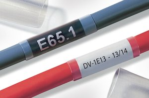 TF34 transparent tubing with 3:1 shrink ratio allowing for a wider range of application.
