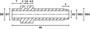 Passe-fils disponibles dans une grande variété de formes et de tailles.