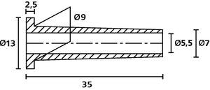 Protección de cables contra pliegues y roturas.