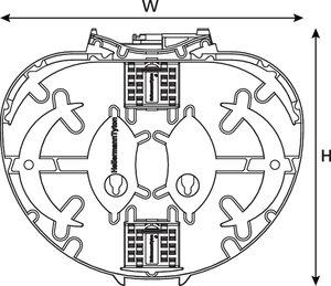 Single Element IR Trays with 3a splice bridges (6 pk)