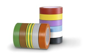 HelaTape Flex 15 is a commercial grade, weather resistant vinyl tape.