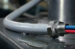 HelaGuard PSRSC - Smooth Bore Spiral-reinforced PVC Conduit.