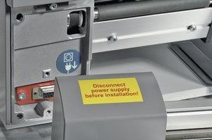 Helatag-Laseretiketten sind für alle Standarddrucker geeignet.