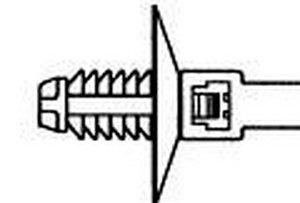 Diese Befestigungsbinder sind ideal geeignet für dickere Bleche und Gewindelöcher.