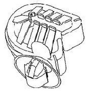 Clips de faisceaux pour trous ovales et pour diamètres de faisceaux variables - HC90SFT