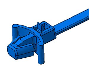 Releasable and reusable cable tie, RELK-Series.