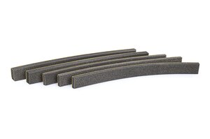 Self-adhesive sealing foam for wall ducts.