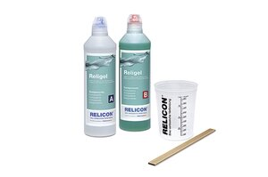 Two-component silicone gel Religel.