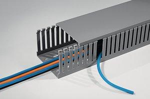 HTWD-PD ledningskanaler i DIN størrelser.