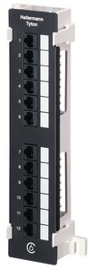 12 Port Category 6 Universal 110 Vertical Panel
