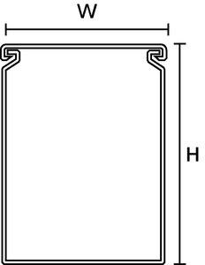 Heladuct HD com parede fechada.