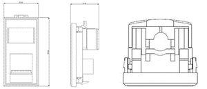 MegaBand Category 5e Low Profile Single Outlets