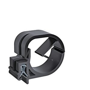EdgeClip cable and tube clips are suitable for the low-vibration routing of cables and tubes with larger bundle diameters.