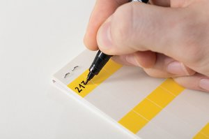 HELASIGN self-laminating labels for quick and easy wire and cable identification.
