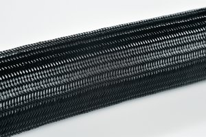 Helagaine HEGPA66 braided sleeving.