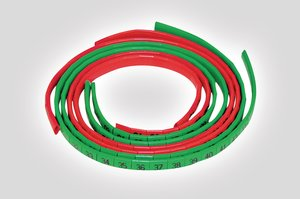 Oval Grip Cable Markers in Red or Green