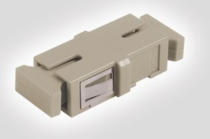 SC Simplex Multimode Adapter, compatible with HellermannTyton Fibre Panels